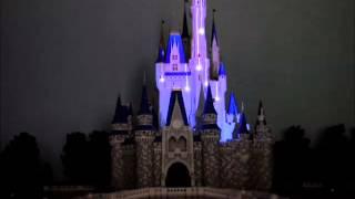 Amazing projection show on miniature Cinderella Castle model