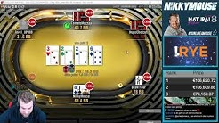 150.000€ 1st Biggest WIN Online streamed live 50.000 entrys