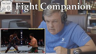 Teddy Atlas watches ISRAEL ADESANYA vs KELVIN GASTELUM | The Fight Companion