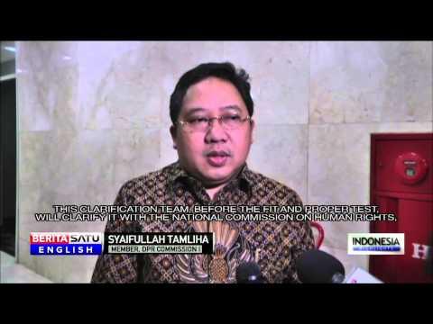 Indonesian Lawmaker Welcomes Choice of Gatot Nurmantyo as TNI Chief