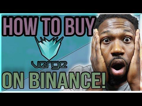 HOW TO BUY VERGE ON BINANCE (EASY)!
