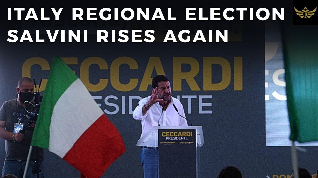 Regional elections in Italy shows rise of Euroskeptic parties & Salvini in pole position