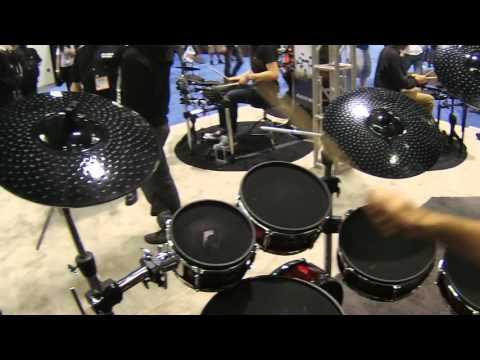NAMM 2016 Alesis Strike Pro Kit Electronic Drum Kit