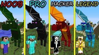 Minecraft Battle: NOOB vs PRO vs HACKER vs LEGENDARY: CULTIVATION DRAGON in Minecraft MAP!