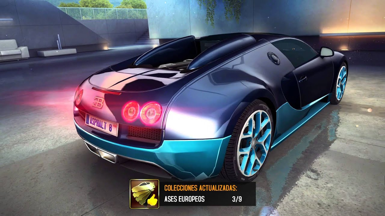 asphalt 8 airborne bugatti 16 4 grand sport vitesse youtube. Black Bedroom Furniture Sets. Home Design Ideas