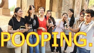 Delhi On Pooping | Street Interview by The Teen Trolls