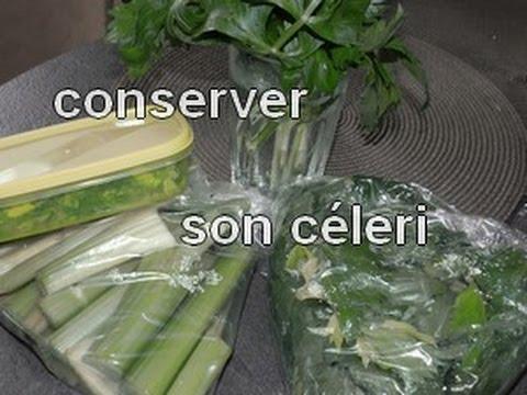 Comment conserver un bouquet de c l ri youtube - Comment cuisiner le celeri en branche ...