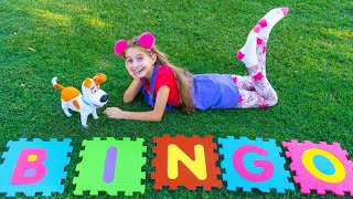 Bingo song | Children songs with Alicia and Alex by Sunny Kids Songs