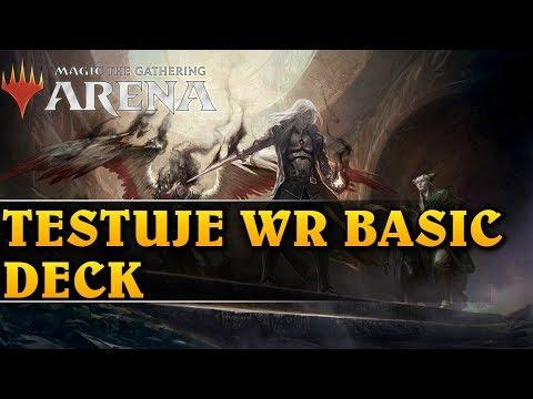 TESTUJE WR BASIC DECK - Magic The Gathering: Arena