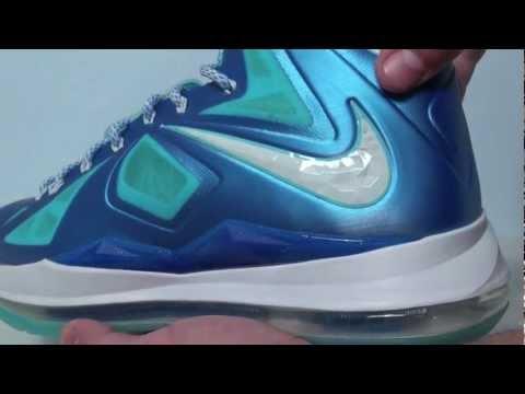 Nike LeBron 10 (X) Blue Diamond - Windchill
