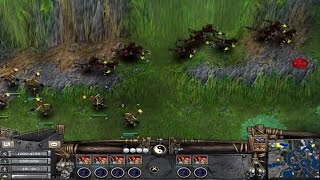 Battle Realms- 2 vs 6 AI. Tarantholm(8).