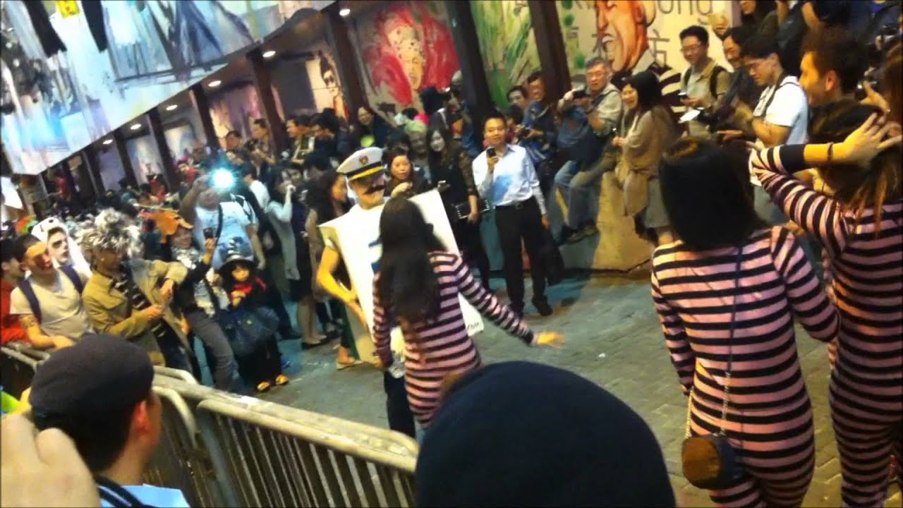 happy halloween 2012   lkf, hong kong - youtube