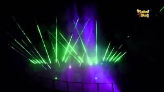 """Lasershow """"Elements"""" zur Mittsommernacht in Plohn"""