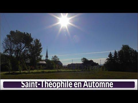 St-Théophile En Automne(Hier@Aujourd`hui)