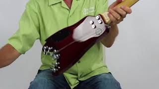 Strobel Guitars | Take Apart the Strobel Travel Guitar | Under 3 minutes