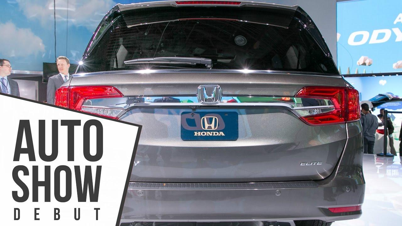 2018 Honda Pilot Spy Photos >> 2018 Honda Odyssey Features Spy Cam 10 Speed