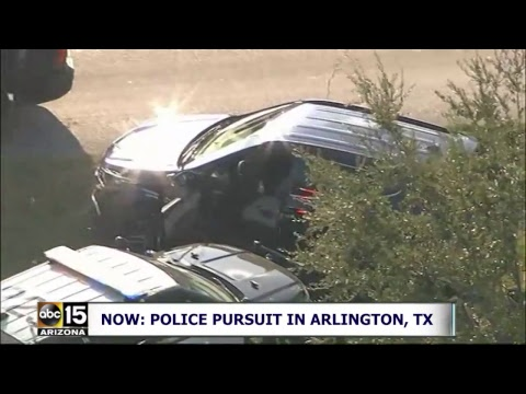 LIVE: SPEEDY police pursuit in Arlington, Texas
