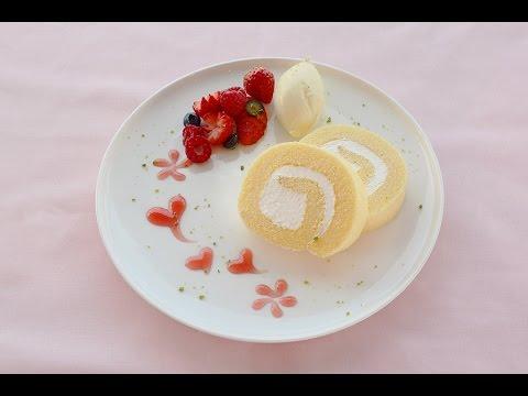 ロールケーキ 皿