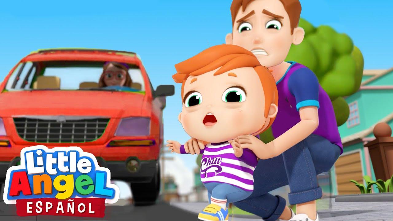 Bebé Juan Aprende a Tener Cuidado | Canciones Infantiles de Bebé Juan | Little Angel Español