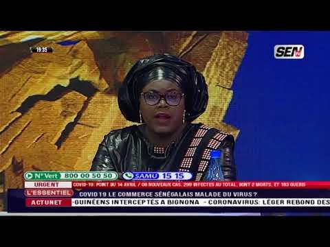 COVID19: Mme Aminata Assome Diatta rassure