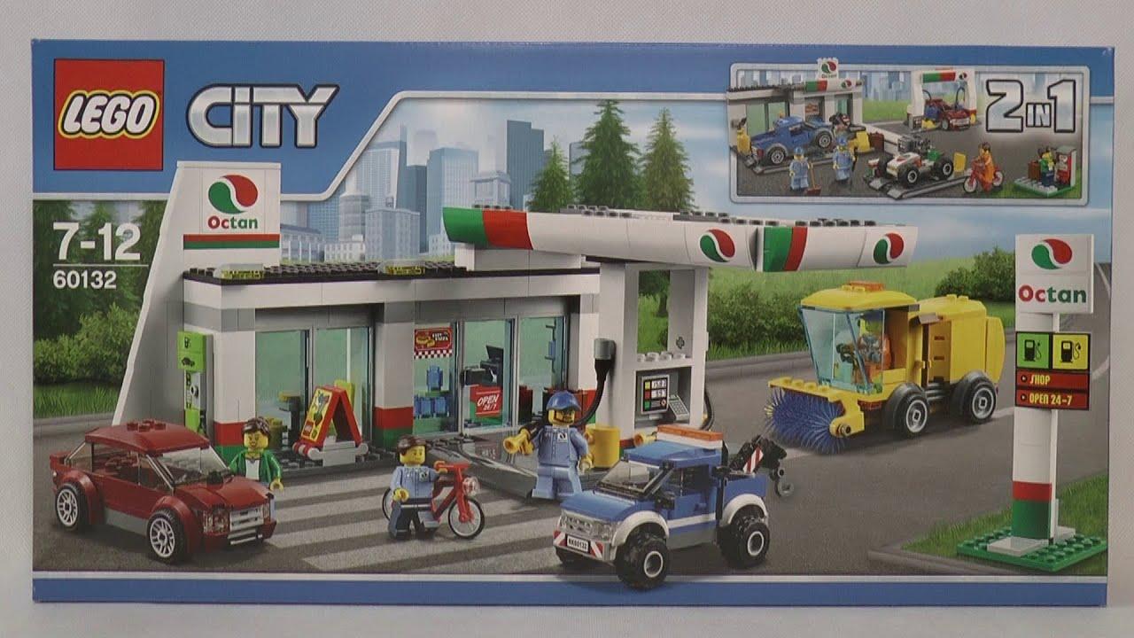 lego city 60132 service station youtube. Black Bedroom Furniture Sets. Home Design Ideas
