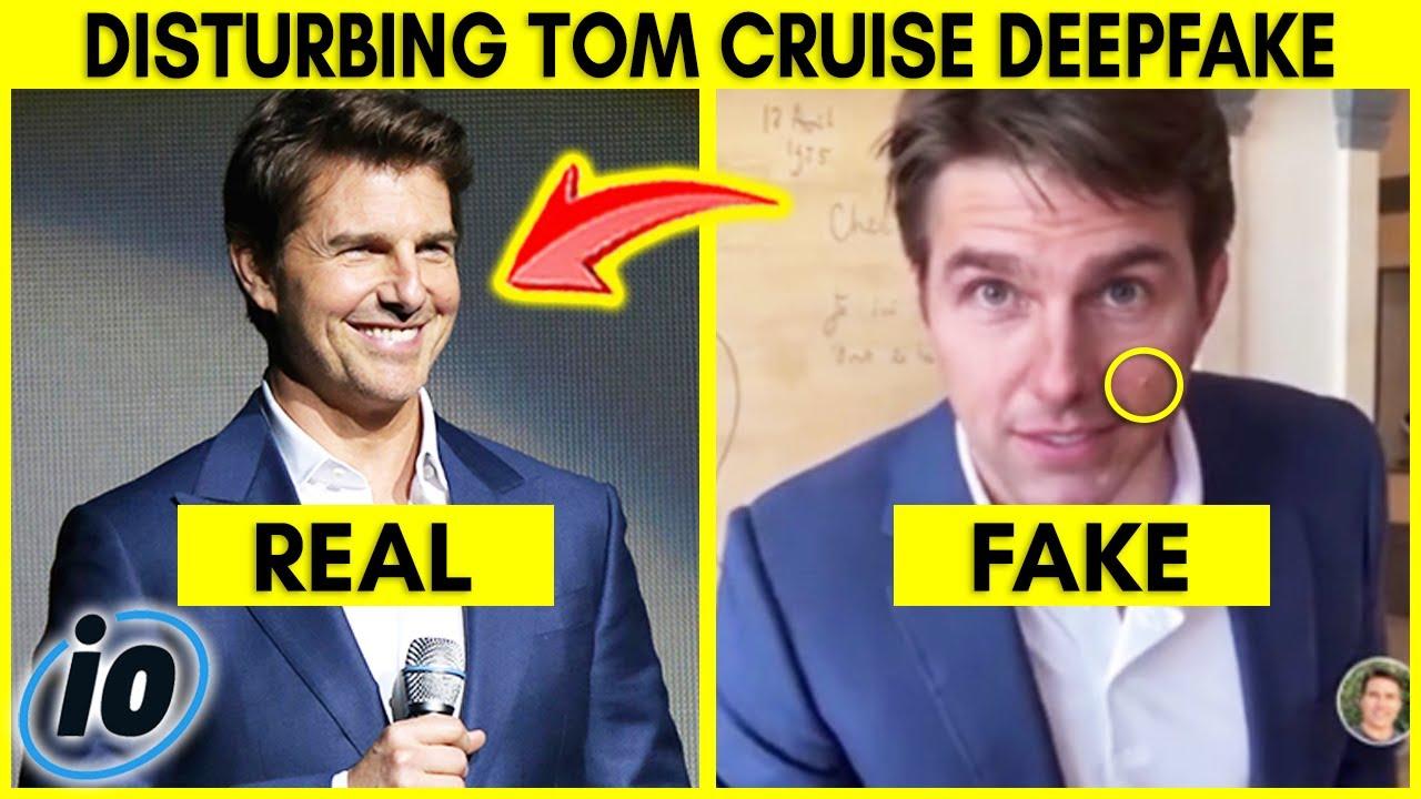 Disturbing Tom Cruise Video Goes Viral On TikTok