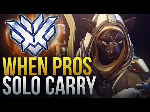 WHEN PROS SOLO CARRY #8 - Overwatch Montage thumbnail