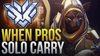 WHEN PROS SOLO CARRY #8 - Overwatch Montage