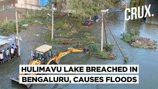 Hulimavu Lake Breach | Bengaluru Homes Flooded; Bikes & Cars Swept Away