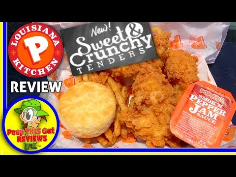 Popeyes® | Sweet & Crunchy Tenders Review! ⚜🐔