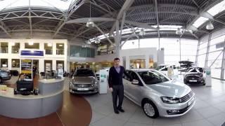 Тест-драйв Volkswagen Polo в формате 360°(Видео можно поворачивать с помощью курсора. Volkswagen Polo - самый продаваемый новый автомобиль в Беларуси уже..., 2017-01-23T18:42:54.000Z)