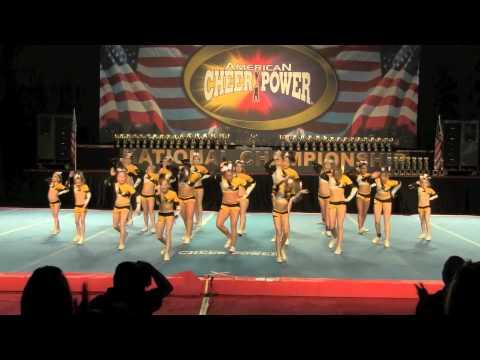 Champion Allstars Junior Level 2 Cheer Power April 2 2011
