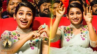 Nakshathra Nagesh's Dazzling Cute Candid Moments At Galatta Nakshathra Awards 2019
