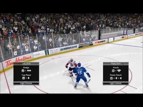 Evolution of Fighting in NHL Video Games (NHL 99 until Now)