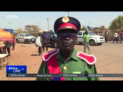 Juba residents protest against U.S. weapons embargo