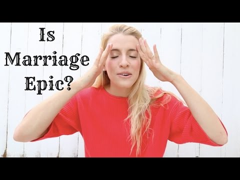 """Please Stop Telling Women Marriage Is Epic."""