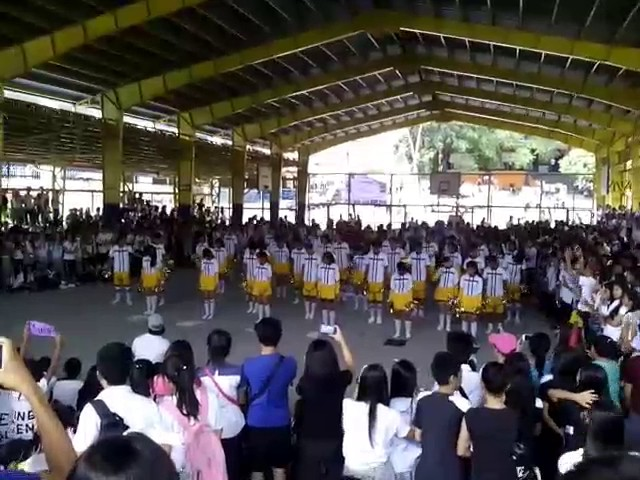 Cheerdance of 10-18 2017 in KNHS Caloocan