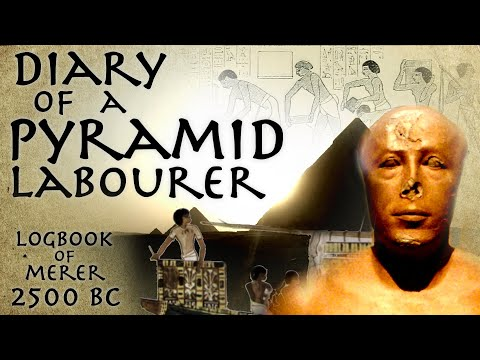 """Diary Of A Pyramid Labourer // Oldest Papyrus Discovered 2550 BC """"Diary of Merer"""" // Primary Source"""