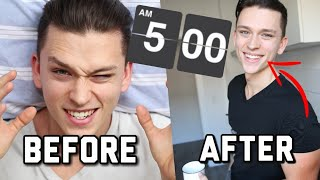 This happens when you get up at 5 AM for a week !