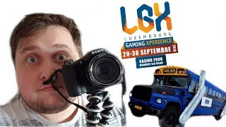I HAD AN AMAZING DAY AT LUXEMBOURG GAMING XPERIENCE!!! (Vlog #3)