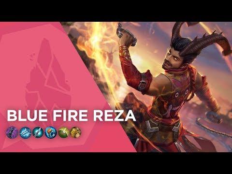 Vainglory Gameplay - Episode 118: Blue Fire Reza (Update 2.11)