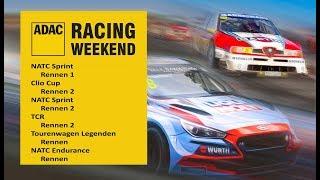 1. ADAC Racing Weekend - Oschersleben - Sonntag - RE-LIVE