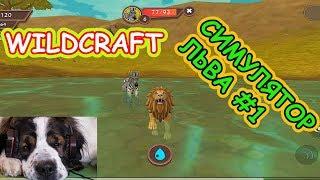 Симулятор ЛЬВА #1. WildCraft. Прокачиваем льва. Нашел свою ЛЬВИЦУ
