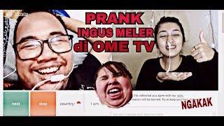 Gambar cover PRANK BERSIN INGUS MELER DI OME TV!!