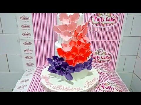 wedding-cake-with-gumpaste-flowers-|-fondant-cakes-|-customized-design-ideas