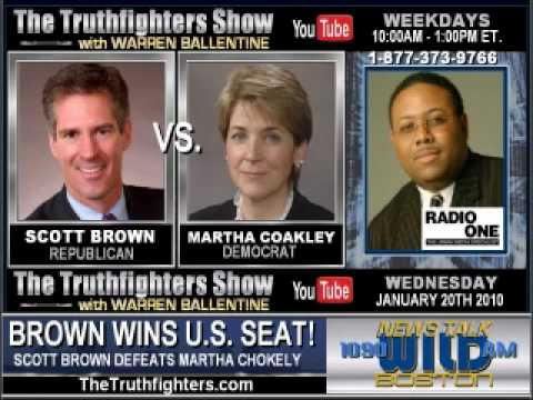 Warren Ballentine - Scott Brown Defeats Martha Coakley (Part 1 of 3)