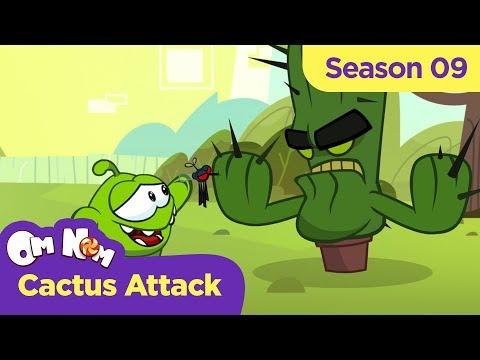 Om Nom Stories - Super-Noms: Cactus Attack (Cut The Rope)