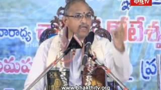 Srisaila Mahathyam - Importance Of Sri Rudram Slokam By Chaganti || EPI 15(3)