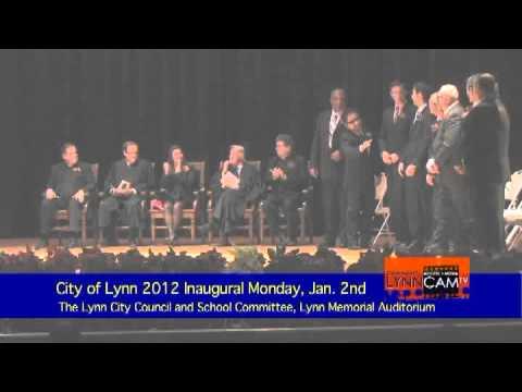 The 2012 City of Lynn, MA Inauguration Ceremony