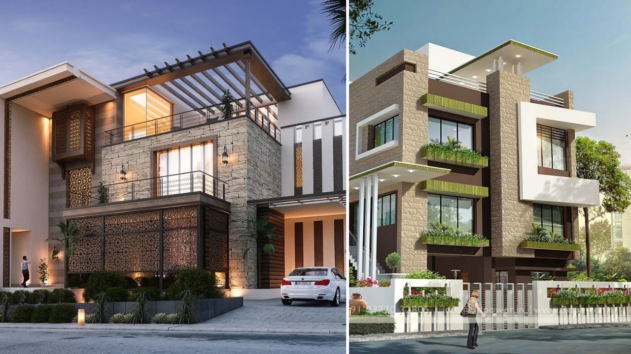 Beautiful Modern House Elevation Designs 2020 3d Home Exterior Designs Youtube